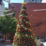 6 metre decorated Christmas tree external