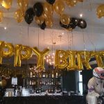 Balloons foil birthday gold