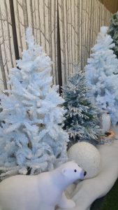 Winter Christmas decorations