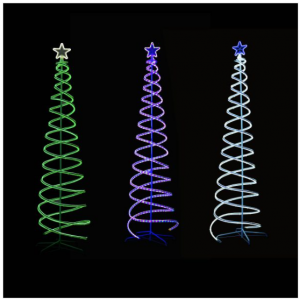 Neon Christmas tree multicolour
