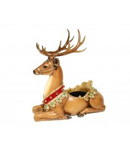 Reindeer pot from resin