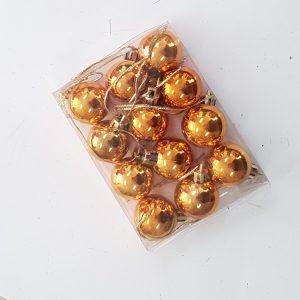 Copper baubles 2cm