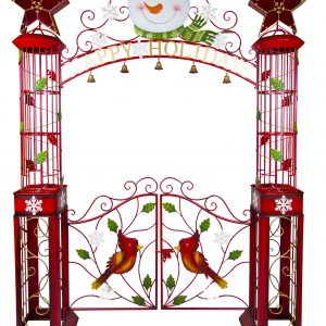 Metal ornamental gate