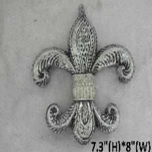FleurDeLis Silver decoration
