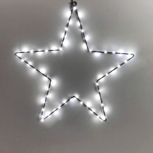 Hanging Star with Dual Color LED