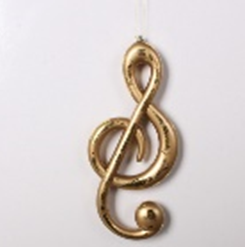 Treble Clef Musical note decoration