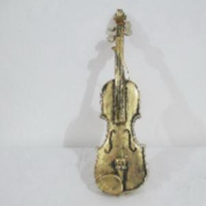 Violin Christmas decoration