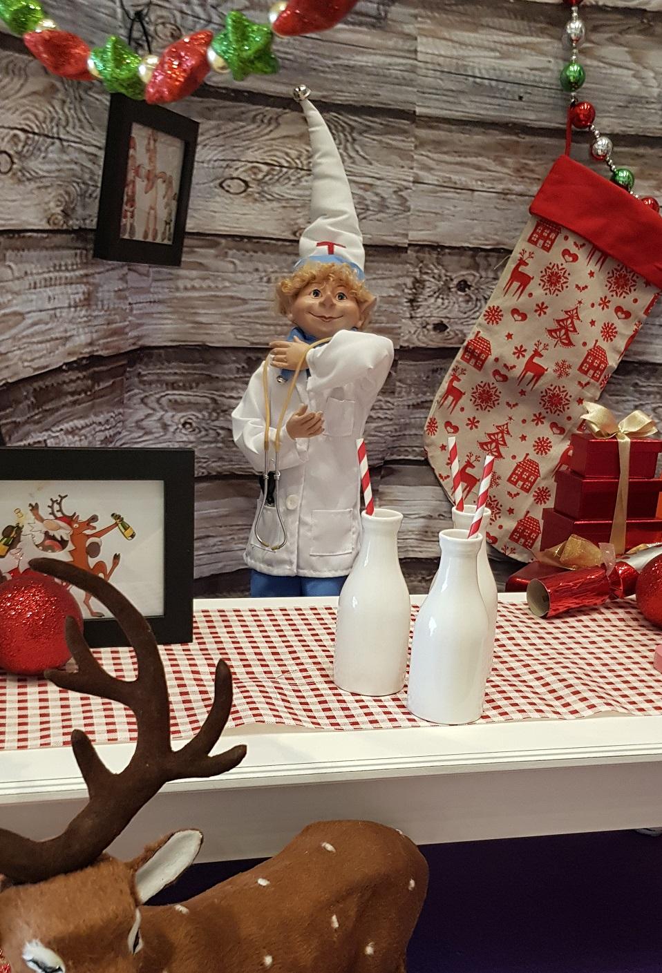 Doctor Christmas elf