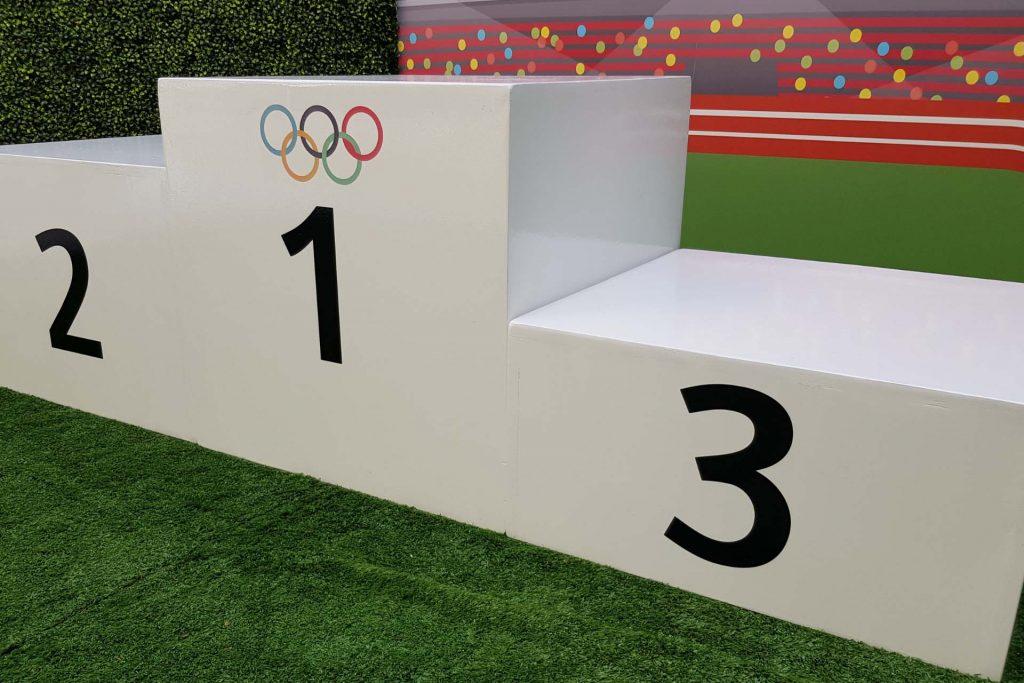Olympic dias for event