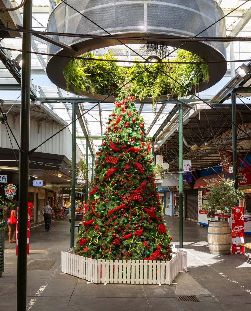 Large Christmas at Preston Market