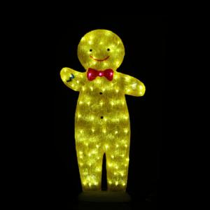 Acrylic Gingerbread Man