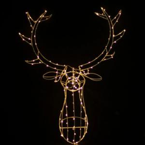 light up Reindeer head